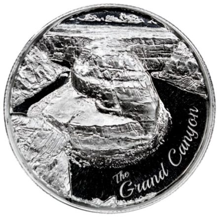 Grand Canyon 2 oz Silver Round Obverse