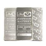 Johnson Matthey 10 oz Silver Bar - Any Style