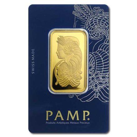 PAMP Fortuna 1 oz Gold Bar