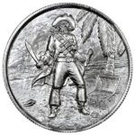 Privateer Captain 2 oz Silver Round Obverse