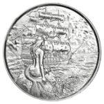 Privateer Siren 2 oz Silver Round Obverse