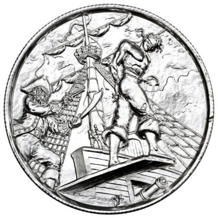Privateer The Plank 2 oz Silver Round Obverse