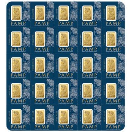 25x1 gram PAMP Gold Bar Multigram25