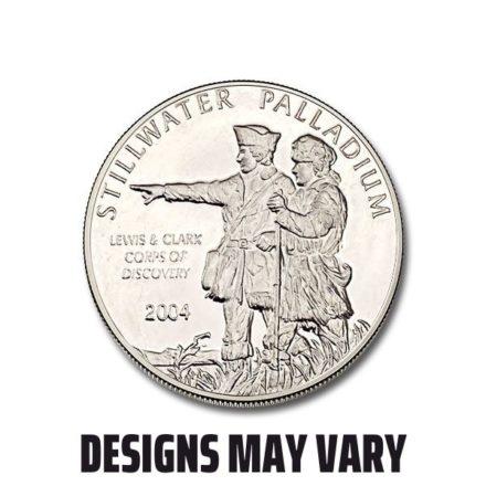 1/4 oz Palladium Round - Any Mint, Any Condition