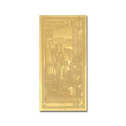 10 Nevada Goldback Aurum Gold Note Reverse