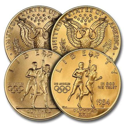 $10 US Mint Commemorative Gold Coin