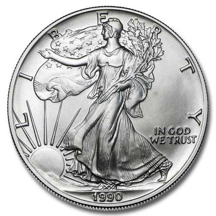 1990 American Silver Eagle Coin