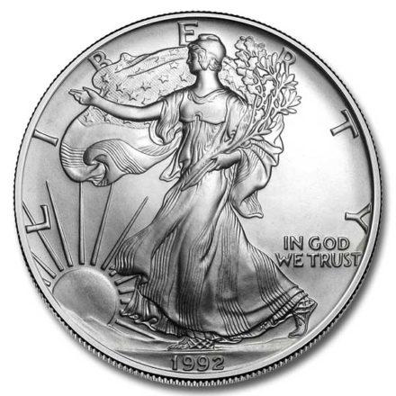 1992 American Silver Eagle Coin