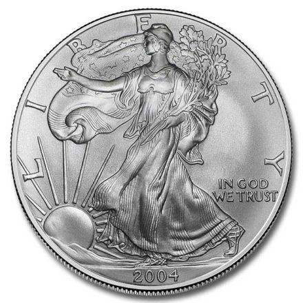 2004 American Silver Eagle Coin