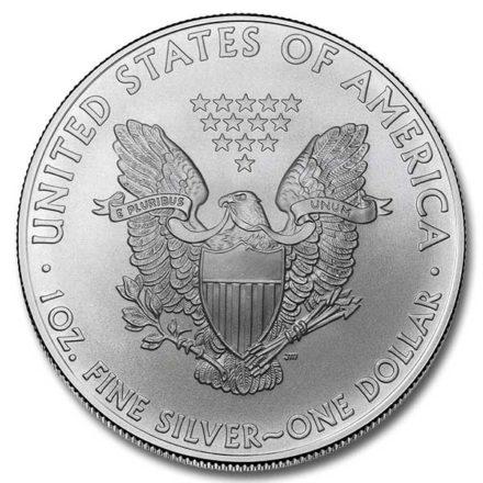 2009 American Silver Eagle Coin Reverse