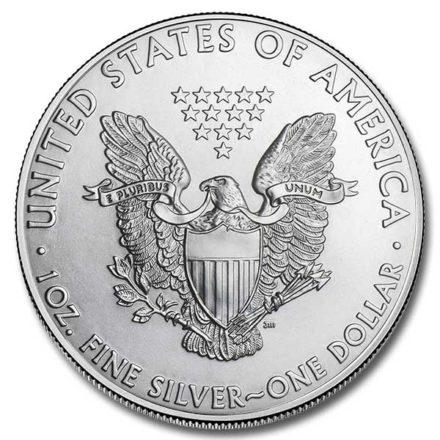 2011 American Silver Eagle Coin Reverse