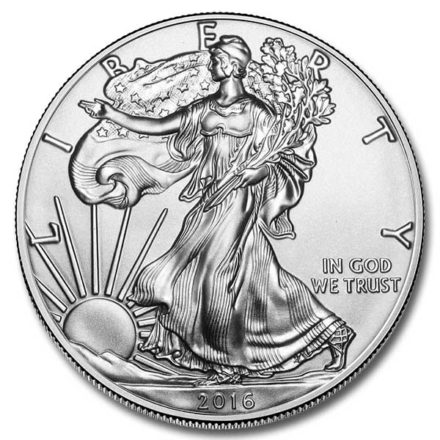 2016 American Silver Eagle Coin