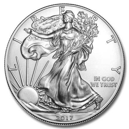 2017 American Silver Eagle Coin