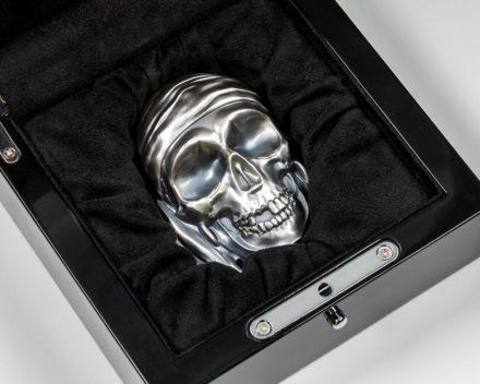 2018 Palau 1/2 kilo Silver Big Pirate Skull