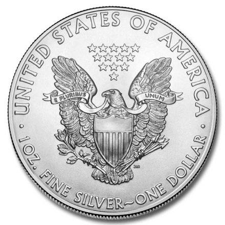 2019 American Silver Eagle Coin Reverse