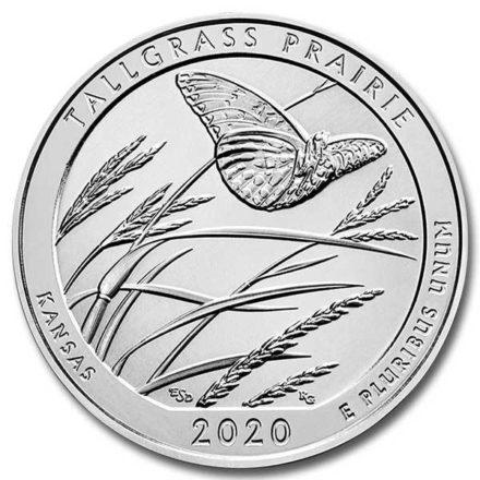 2020 5 oz Silver ATB Tallgrass Prairie National Preserve