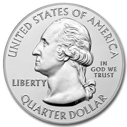 2020 5 oz Silver ATB Tallgrass Prairie National Preserve Coin Obverse