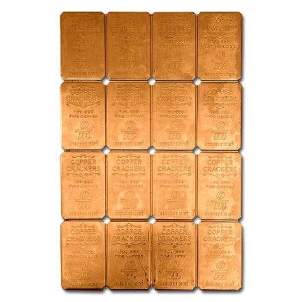 16 x 1 oz Copper Cracker Bars