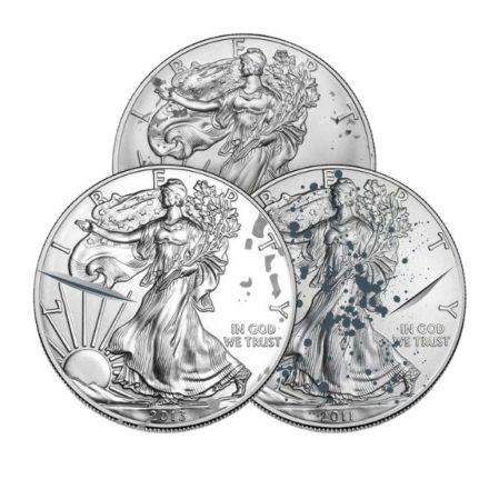 Cull 1 oz American Silver Eagle Coin - Any Year