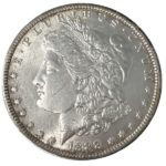 Morgan Silver Dollar Coin - 1878-1904 AU