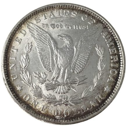 Morgan Silver Dollar Coin - 1878-1904 AU Reverse