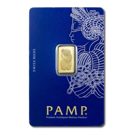 PAMP Fortuna 2.5 gram Gold Bar