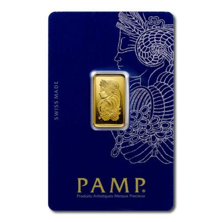 PAMP Fortuna 5 gram Gold Bar