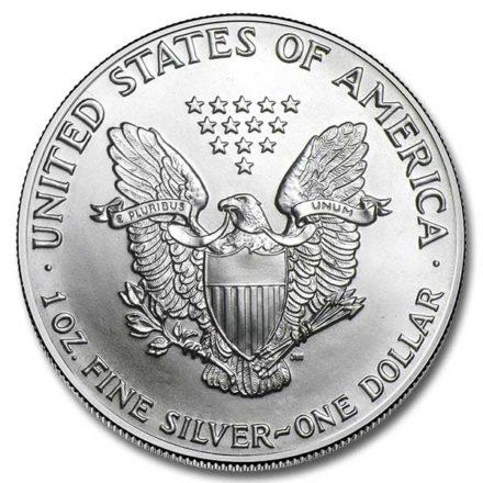 1986 1 oz American Silver Eagle Coin Reverse