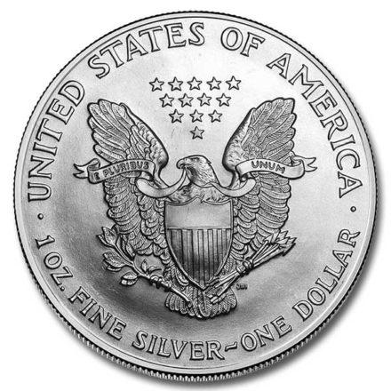 1998 1 oz American Silver Eagle Coin Reverse