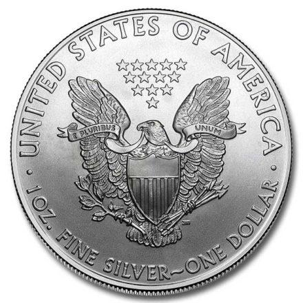 2010 1 oz American Silver Eagle Coin Reverse
