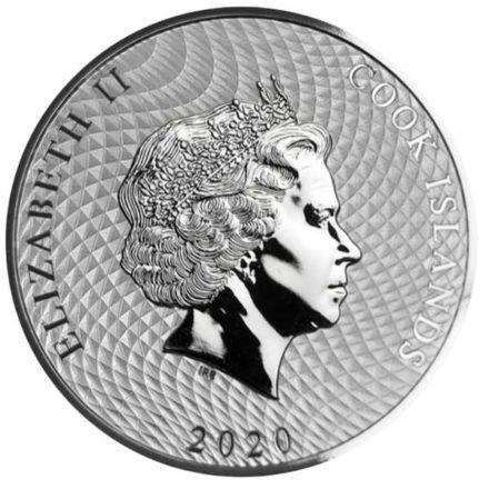 2020 Cook Islands 1 oz Silver HMS Bounty Coin