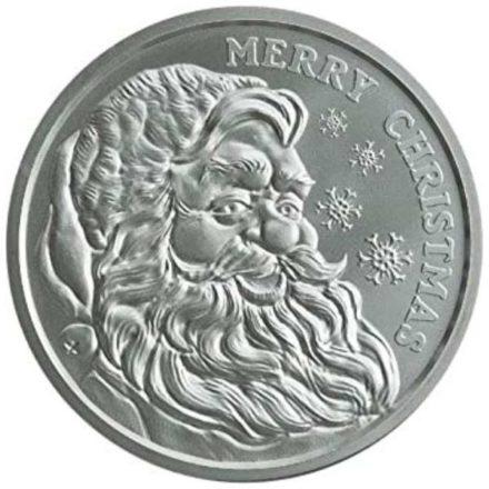 2020 Santa 1 oz Silver Round Obverse (1)