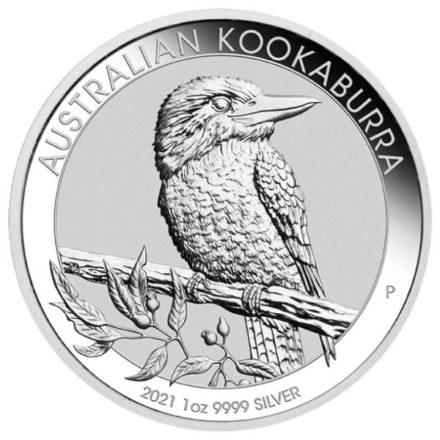 2021 Australia 1 oz Silver Kookaburra Coin Obverse