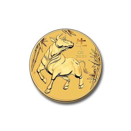 2021 Australian 1/10 oz Gold Lunar Ox Coin