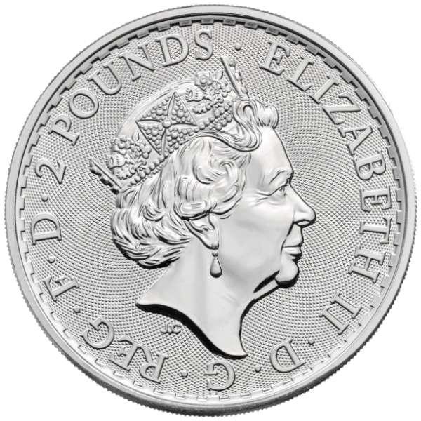 1 Gram Of .999 Silver 5 British Britannia Design