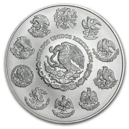 2020 2 oz Mexican Silver Libertad Coin Reverse