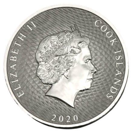 2020 Cook Islands 2 oz Silver HMS Bounty Coin 1