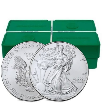 2021 1 oz American Silver Eagle Monster Box