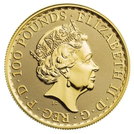 2021 1 oz British Gold Britannia Coin 1