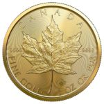 2021 1 oz Canadian Gold Maple Leaf Coin