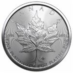 2021 1 oz Canadian Platinum Maple Leaf Coin