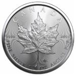 2021 1 oz Canadian Silver Maple Leaf Coin
