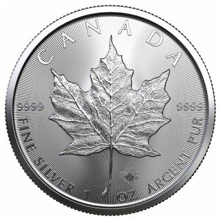 2021 1 oz Canadian Silver Maple Leaf Coin