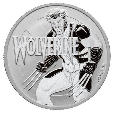 2021 1 oz Tuvalu Silver Wolverine Coin