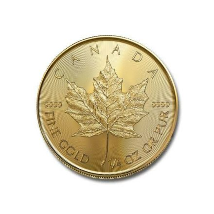 2021 1/4 oz Canadian Gold Maple Leaf Coin