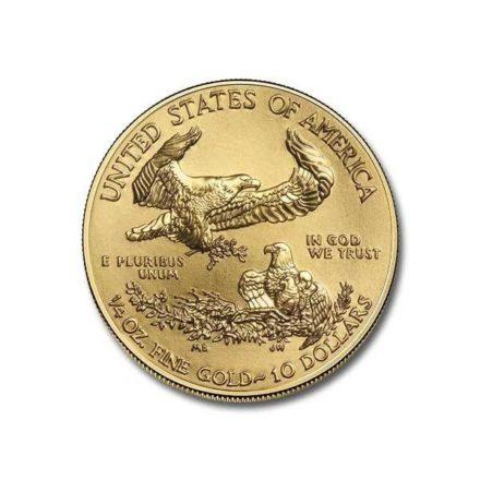 2021 1/4 oz American Gold Eagle Coin Reverse