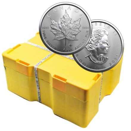 2021 Canadian Silver Maple Leaf Coin Monster Box