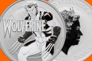 2021 Tuvalu Silver Wolverine Coin