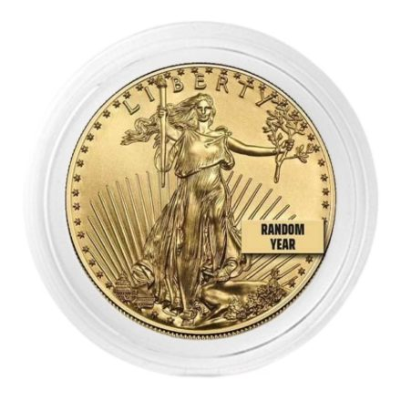 22mm Coin Capsule _ 1_4 oz Gold Eagle (1)