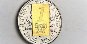 1 Grain Gold Bar 24K